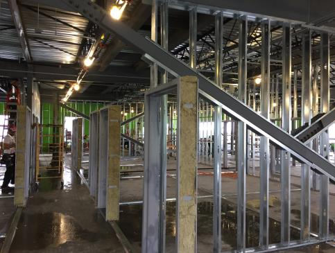 Interior Steel Framing