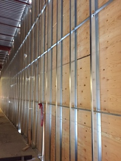 Steel wall framing