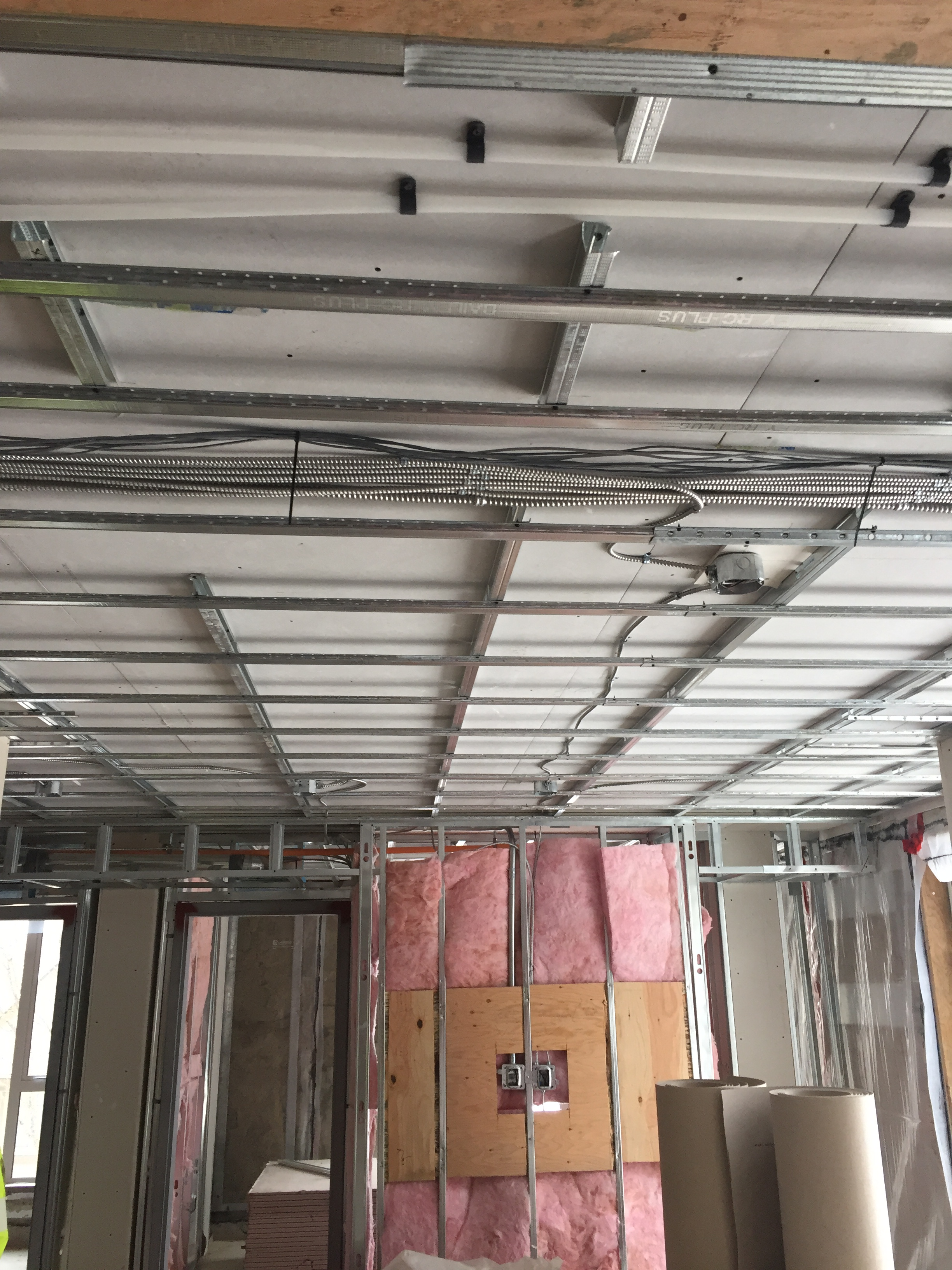 Ceiling using Resilient Channel and Platinum Plus