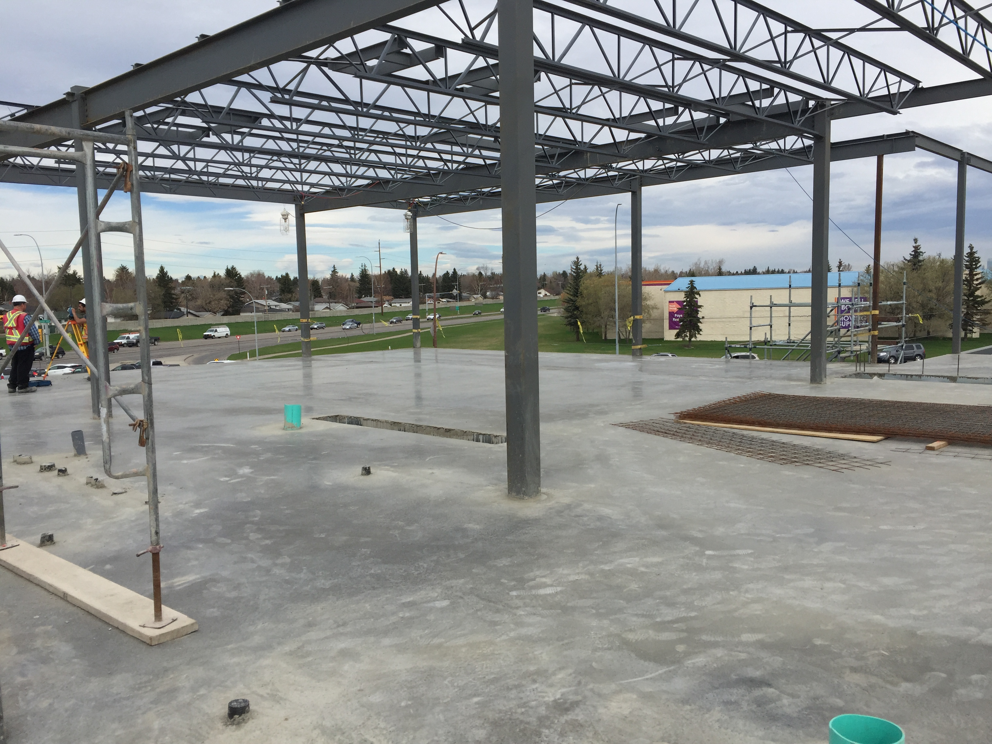 ComSlab LSF convered with concrete