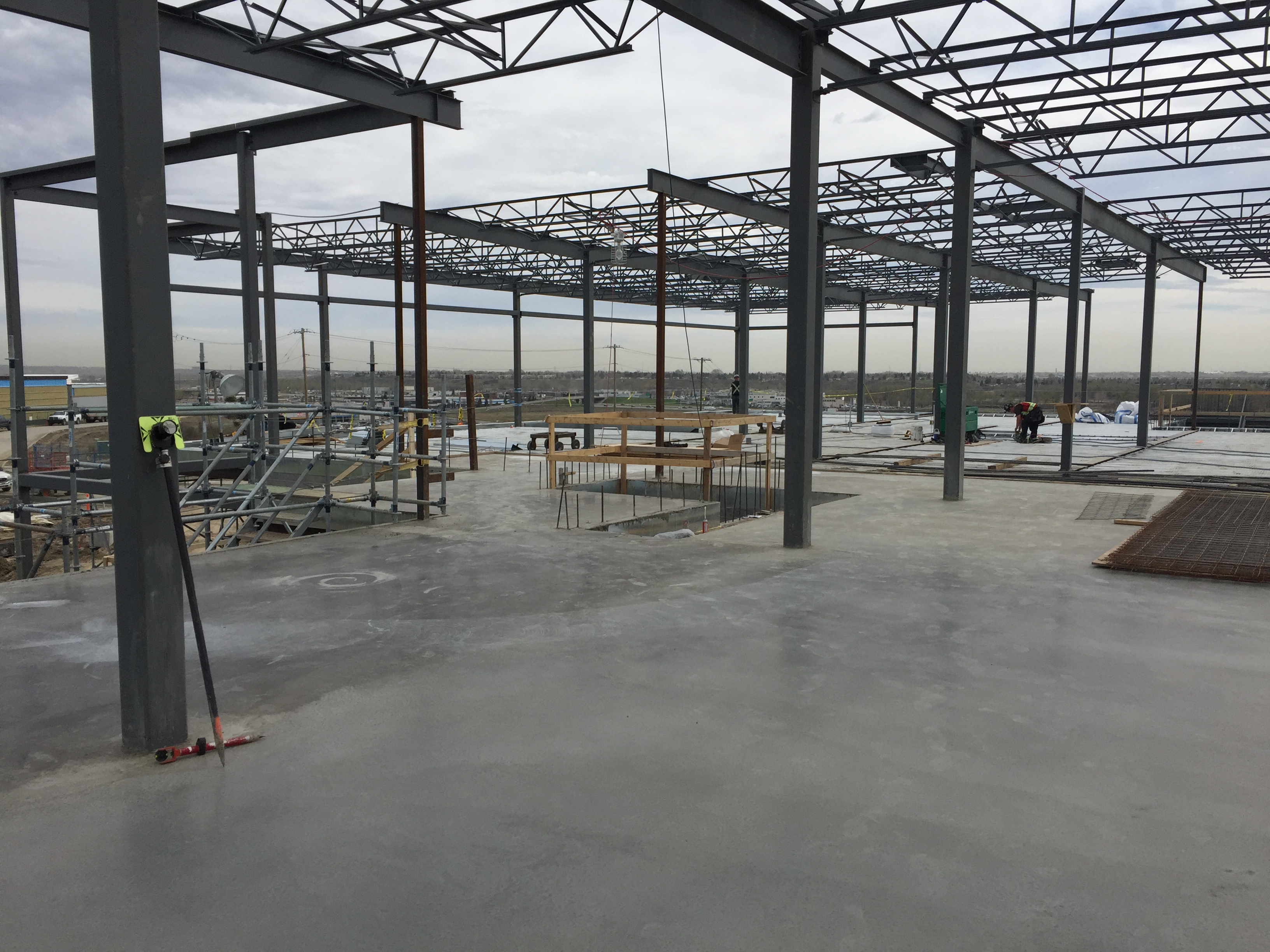ComSlab® LSF with concrete